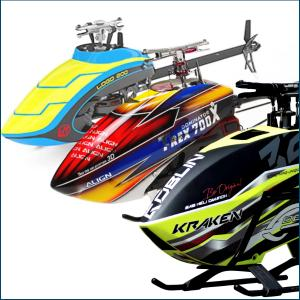 Helicopter kits & Parts